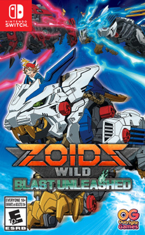 Zoids Wild: Blast Unleashed - Switch