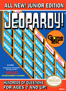 Jeopardy! Junior Edition - NES (Pre-owned)