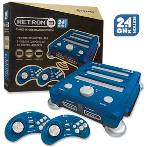 Retron 3 3 in 1 Console 2.4 Ghz edition Bravo Blue