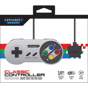 SFC Style SNES Wired Classic Controller [Retro-Bit Europe]