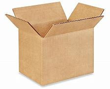 "7 x 5 x 5"" Corrugated Cardboard Shipping Box"