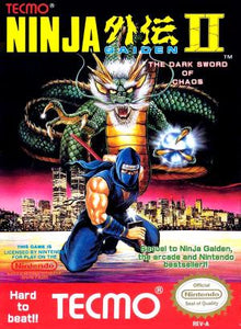 Ninja Gaiden II The Dark Sword of Chaos - NES (Pre-owned)