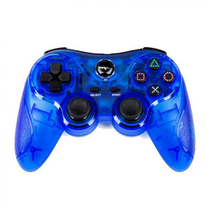 CLEAR BLUE DUALSHOCK 2 WIRELESS CONTROLLER [TTX TECH]