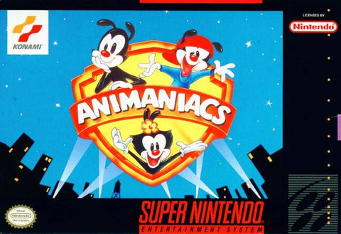 Animaniacs - SNES (Pre-owned)