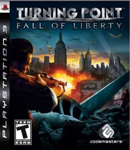 Turning Point Fall of Liberty - PS3 (Pre-owned)