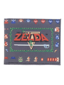 NINTENDO - ZELDA - Pixel Sublimated Bi-Fold Wallet Multi
