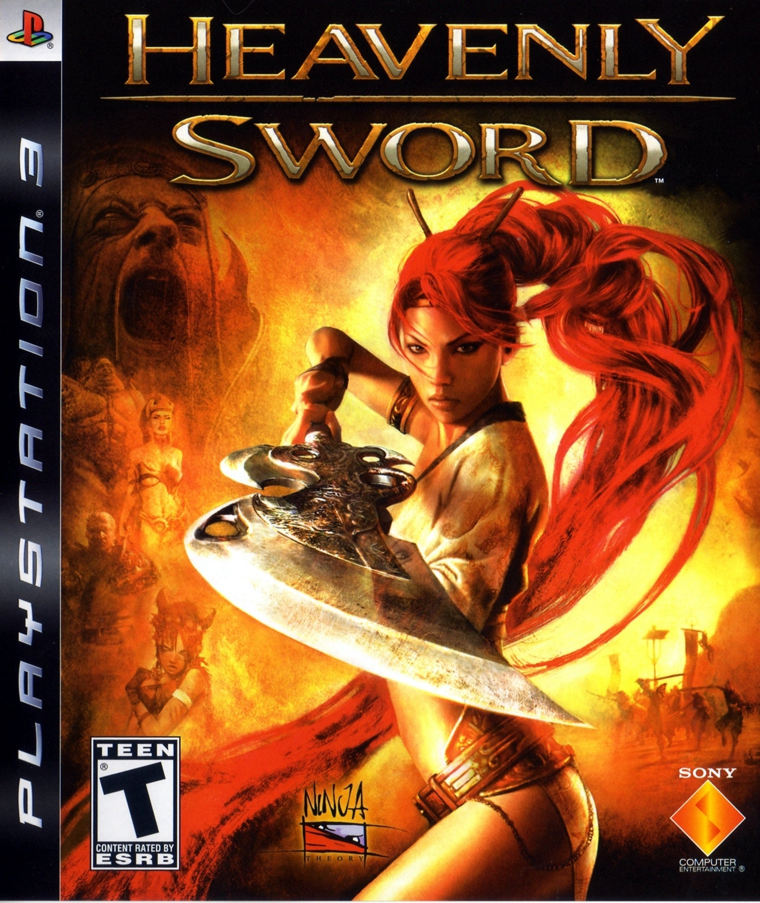 Heavenly Sword - PS3 (Pre-owned)