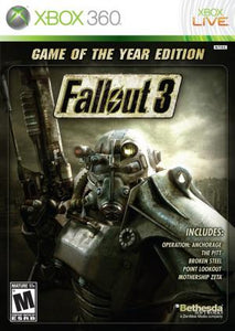 Fallout 3 Game of the Year Edition - Xbox 360 (Pre-owned)