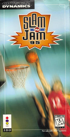 Slam 'n Jam '95 (Long Box) - 3DO (Pre-owned)