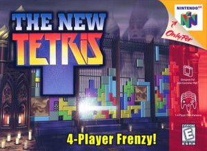 The New Tetris - N64 (Pre-owned)