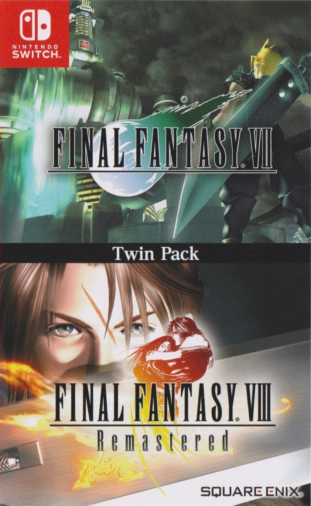 Final Fantasy VII & VIII REMASTERED TWIN PACK (ASIA IMPORT) - Switch