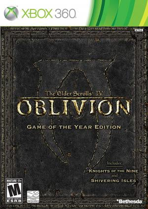 Elder Scrolls IV Oblivion Game of the Year - Xbox 360 (Pre-owned)