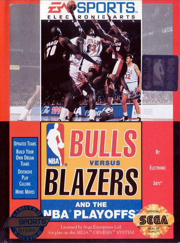 Bulls Vs Blazers and the NBA Playoffs - Genesis (Pre-owned)