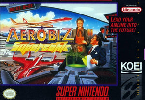 Aerobiz Supersonic - SNES (Pre-owned)