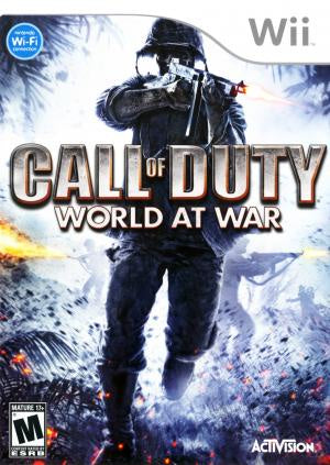 Call of Duty World at War - Wii (Pre-owned)