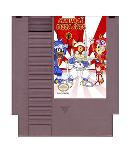 Samurai Pizza Cats (Reproduction) - NES (Pre-owned)