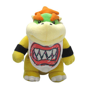"BOWSER JR MARIO ALL STAR COLLECTION 9"" PLUSH TOY [LITTLE BUDDY]"