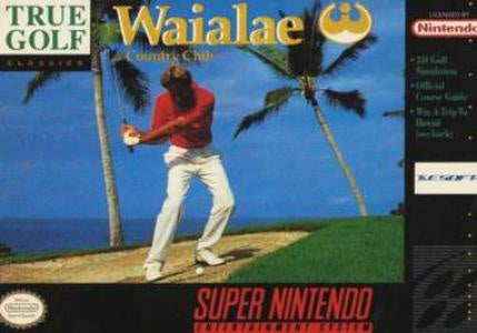 Waialae Country Club - SNES (Pre-owned)