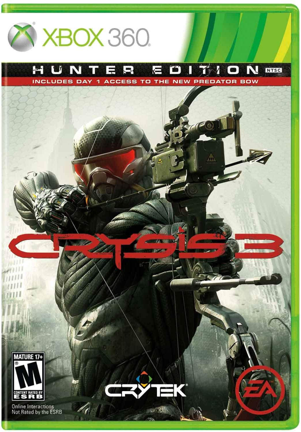Crysis 3 Hunter Edition - Xbox 360 (Pre-owned)