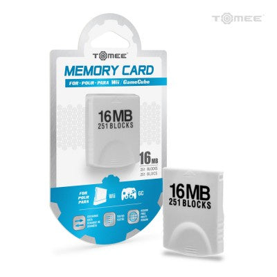 Wii/GC Tomee 16MB Memory Card (251 Blocks)