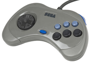 Sega Saturn Controller Gray (Japanese Import)