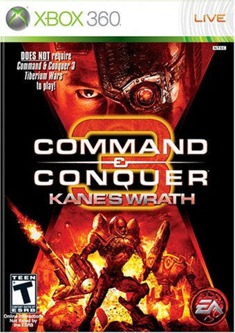 Command & Conquer 3 Kane's Wrath - Xbox 360 (Pre-owned)