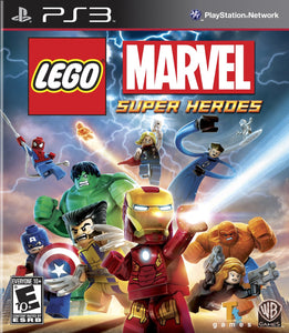 LEGO Marvel Super Heroes - PS3 (Pre-owned)