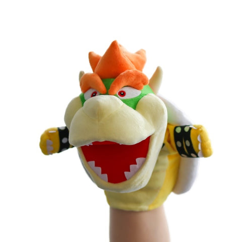 Bowser Puppet Hand Plush King Koopa