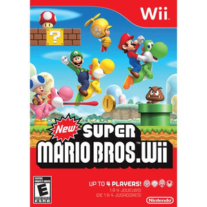 New Super Mario Bros. Wii (UAE Version) - Wii