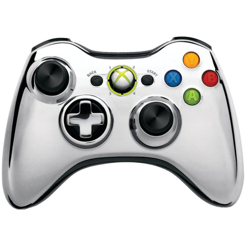Xbox 360 Wireless Controller Silver Official