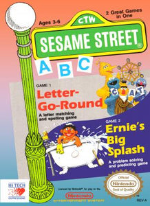 Sesame Street ABC - NES (Pre-owned)