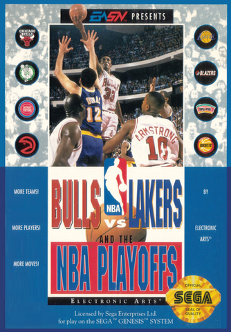 Bulls vs Lakers and the NBA Playoffs - Genesis (Pre-owned)