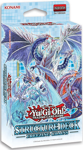 Yu-Gi-Oh! Freezing Chains Structure Deck 1st Edition