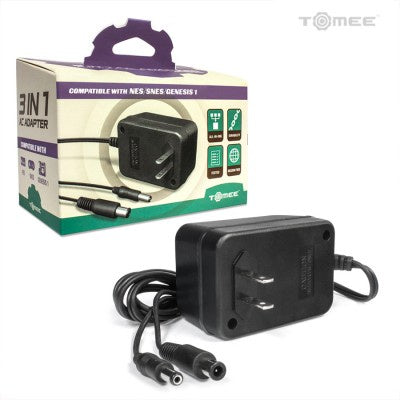 NES/Snes/Genesis Tomee 3 in 1 Ac Adapter