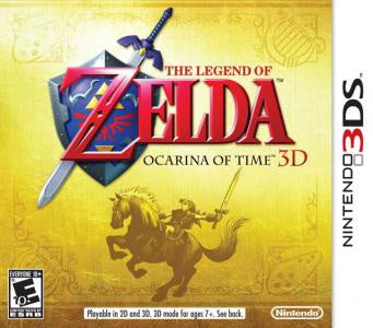 Legend of Zelda: Ocarina of Time 3DS (First Print) - 3DS (Pre-owned)