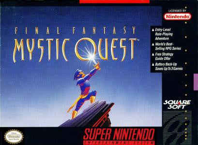 Final Fantasy Mystic Quest - SNES (Pre-owned)