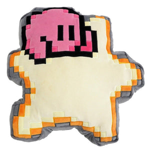 "8BIT KIRBY WARPSTAR KIRBY OF THE STARS 12"" PILLOW"