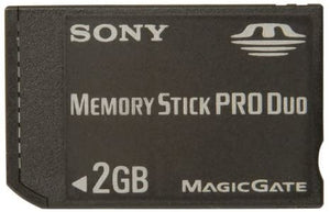2GB Playstation Portable Memory Stick Pro Duo Card PSP Sony