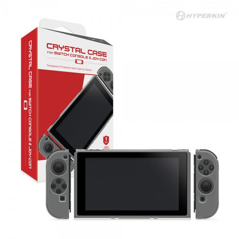 Switch Console and Joy-Con Crystal Case (Hyperkin) - NSW