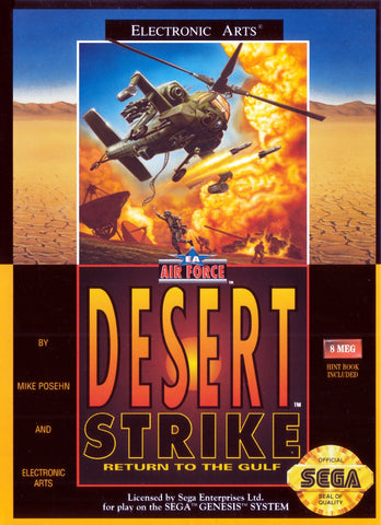 Desert Strike Return to the Gulf - Genesis (Pre-owned)