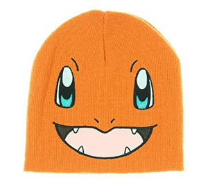POKEMON - CHARMANDER - Big Face Short Knit Beanie