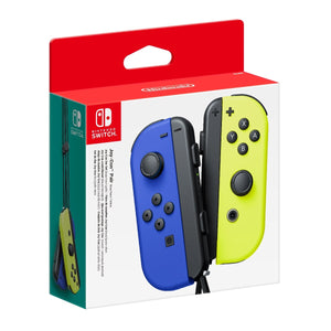 Nintendo Switch Left and Right Joy-Con Controllers - Blue/Neon Yellow