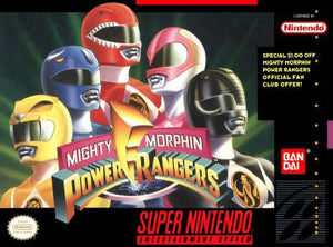 Mighty Morphin Power Rangers - SNES (Pre-owned)