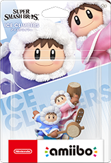 Ice Climbers Amiibo (Super Smash Bros. Series)