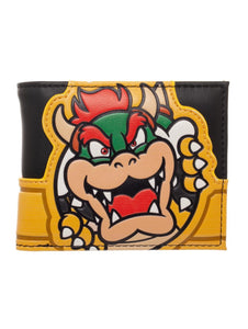 NINTENDO - SUPER MARIO BROS - Bowser Bifold Yellow