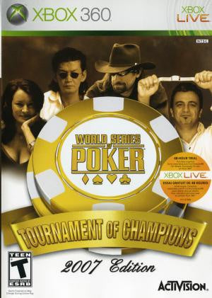 World Series of Poker Tournament of Champions 2007 - Xbox 360 (Pre-owned)
