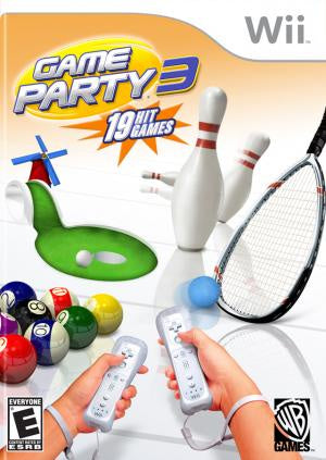 Game Party 3 - Wii (Pre-owned)