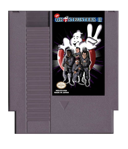 New Ghostbusters II (Reproduction) - NES (Pre-owned)