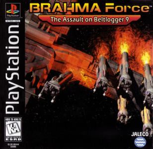 BRAHMA Force the Assault on Beltlogger 9 - PS1 (Pre-owned)