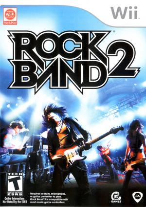 Rock Band 2 (Game Only) - Wii (Pre-owned)